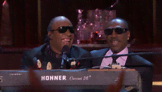 Eddie Murphy Performs With Stevie Wonder
