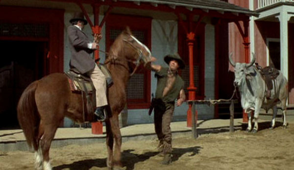 Mongo vs. Horse - Blazing Saddles - Image