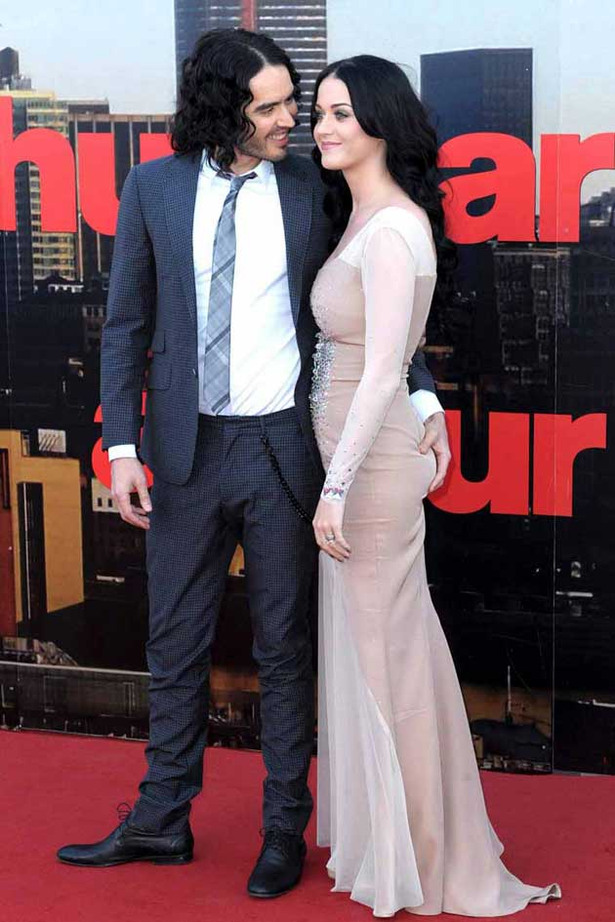 Russell Brand Gets Grabby with Katy Perry