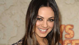 Mila Kunis Helps the Troops By Going to a Marine Corps Ball With One of Them