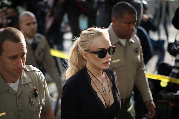 Lindsay Lohan Goes to Court, Again
