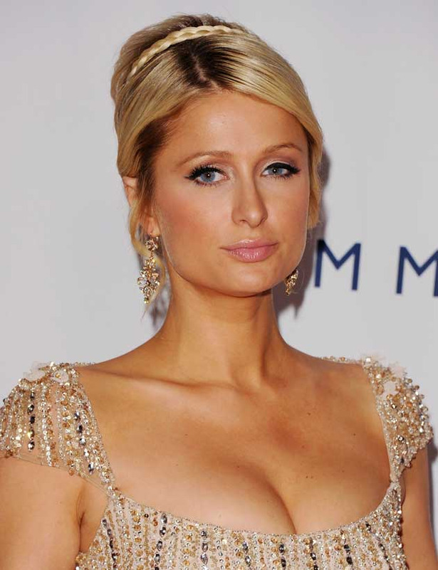 Paris Hilton Plays Princess Dress-Up