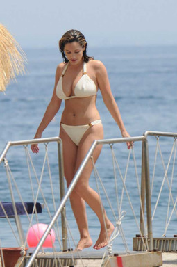 Kelly Brook's Bikini Will Steal Your Heart
