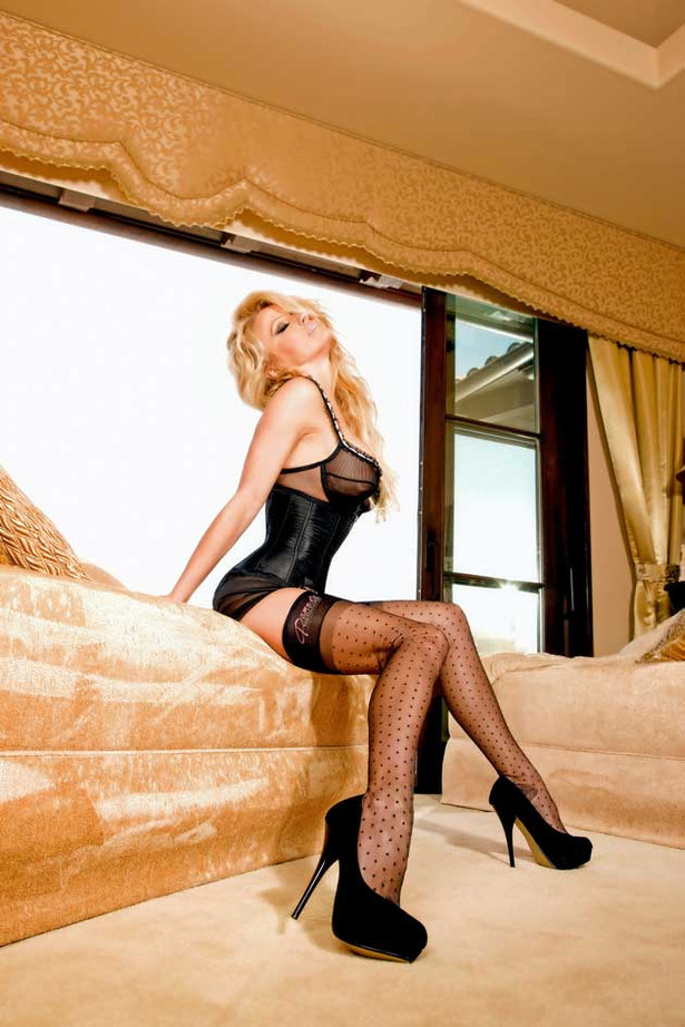 Pamela Anderson is Officially a Stockings Designer