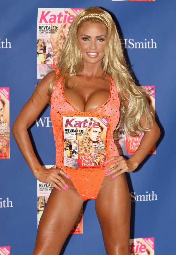 This is How Katie Price Launches a Magazine