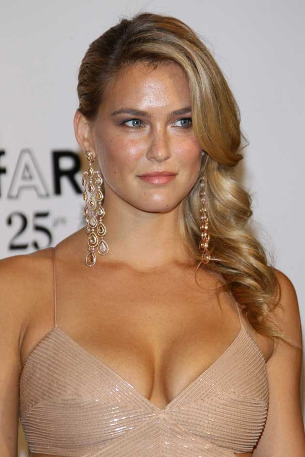 Bar Refaeli Busts Out