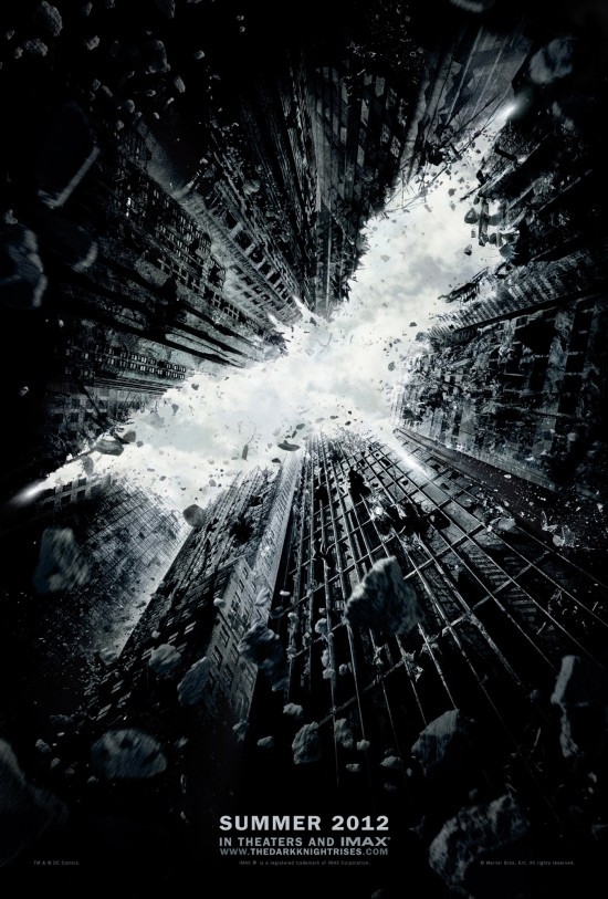 Brand New Teaser Poster for The Dark Knight Rises - BIG