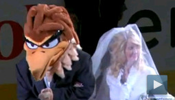 Whoever Said Romance is Dead Clearly Never Got Married at an Atlanta Thrashers Hockey Game