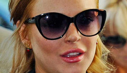 Lindsay Lohan Tries to Cash in on Jail Drama
