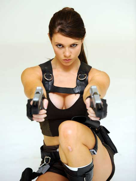 Meet the New Lara Croft