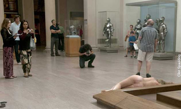 Model Busted for Posing Nude in Art Museum