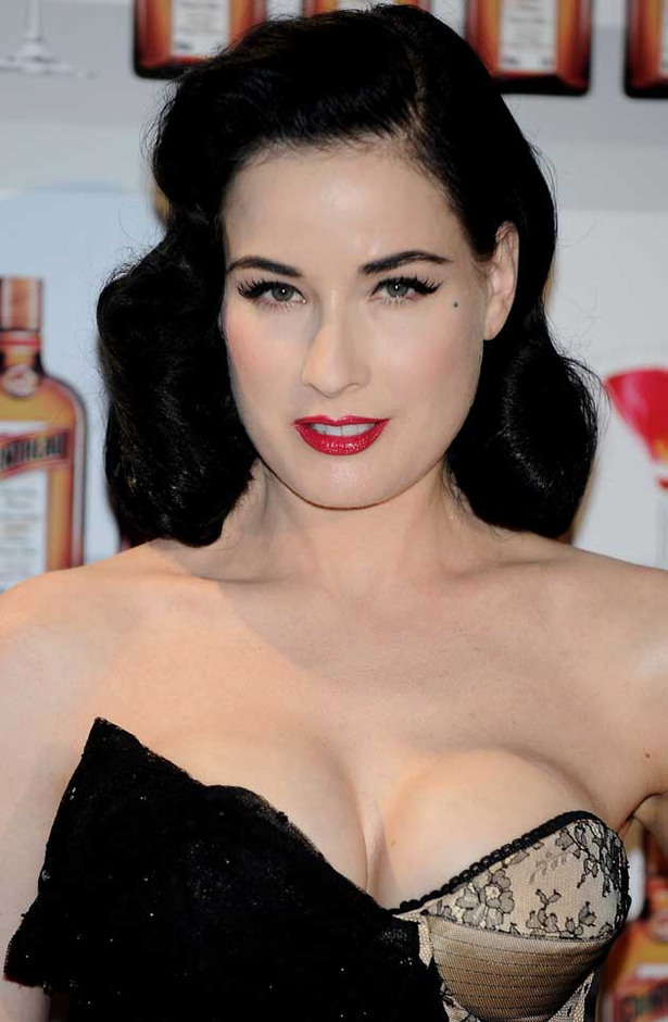 Dita Von Teese Loves a Good Cocktail