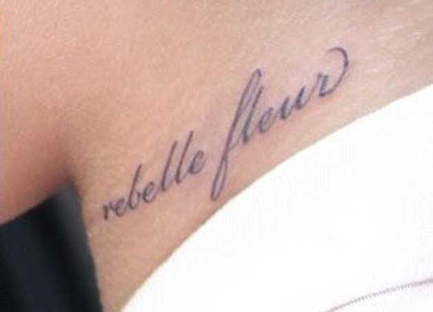 Rihanna's New Tattoo is a FAIL