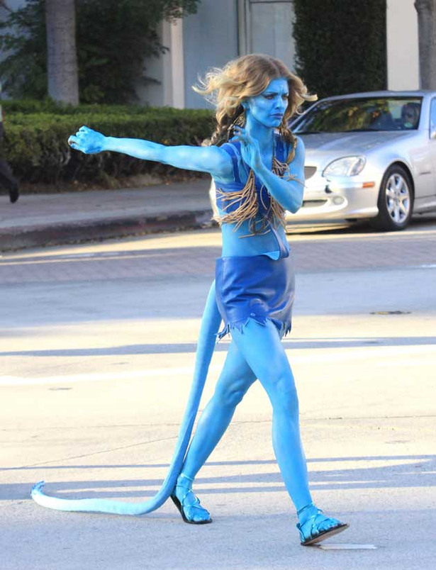 AnnaLynne McCord is Blue