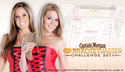 Pick Girls and Win Prizes with the Captain Morgan BracketMaster Challenge