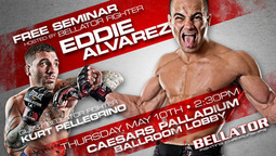 Bellator 68 Event Week: Free MMA Seminar with Pellegrino and Alvarez