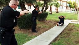 Intense Knife Standoff In Glendale
