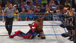 Kenny King & Chris Sabin vs. Manik & Jeff Hardy