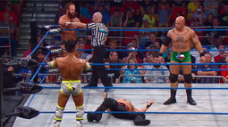 Four Corners Match: Robbie E vs. Hernandez vs. Christopher Daniels vs. Eric Young