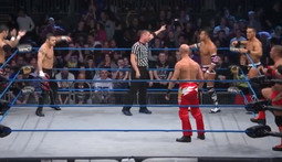 Triple Threat Match: The Wolves Vs. The BroMans Vs. Bad Influence
