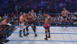 Six Man Tag: MVP, Bobby Lashley & Kenny King Vs. Austin Aries & The Wolves
