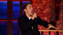 Derek Hough Can't Be Held Back