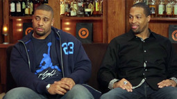 Lamarr Woodley & Michael Boley Break Down the Har-Bowl