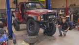 TRUCKS!: Jeep Comanche Three Link Suspension Upgrade